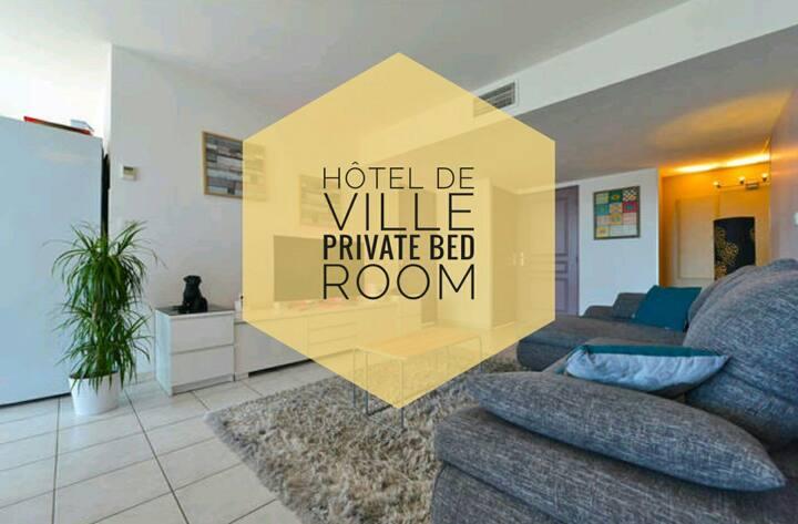 CHAMBRE / MTP CENTRE / HOTEL DE VILLE