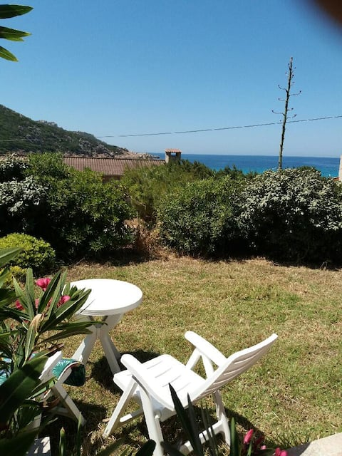 apartment next to the beach in Corsica S-W