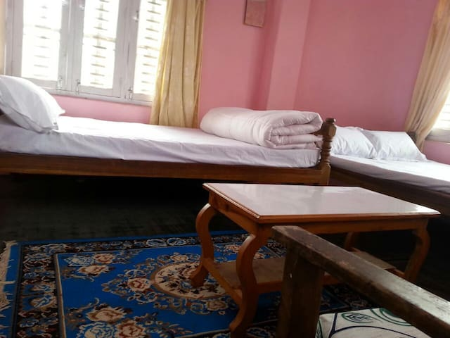 2 Queen size(double) Beds View