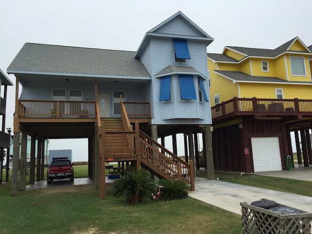 Beach House with View - Bolivar Peninsula - House