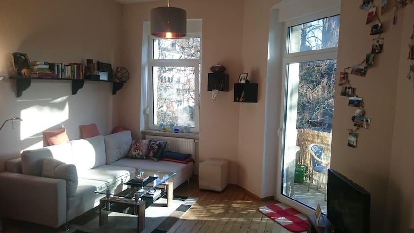 TRAUMHAFTE ALTBAUWOHNUNG! Perfekte Lage mit Balkon - Karlsruhe - Appartement