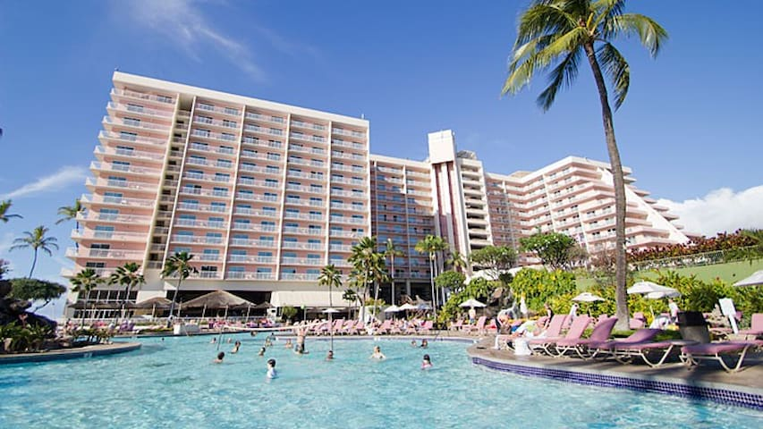 Maui Kaanapali Beach Club Resort Condo, Sleeps 4