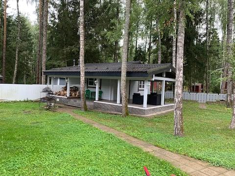 Гостевой домик-баня у леса