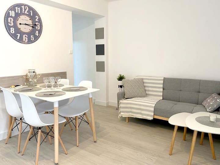 Apartment with 3 bedrooms in Gandia, with furnished balcony and WiFi - 1 km from the beach