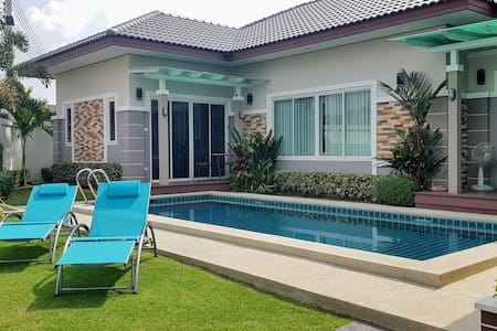 Fantastic new 3-bed Pool Villa, 7 minutes to beach