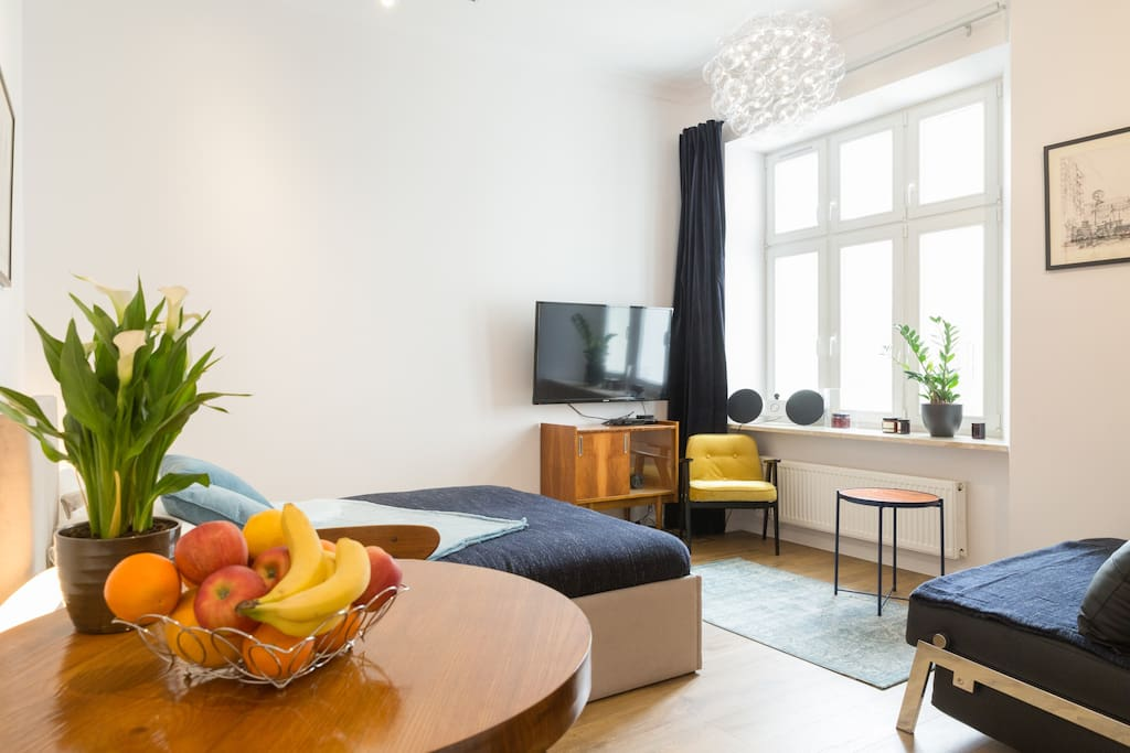 """The apartment is very nice, clean and well located in a good and central part of Warsaw! Daniel is a good host and is easy in quick in communication. Great stay, would definitely stay again."" - PIM"