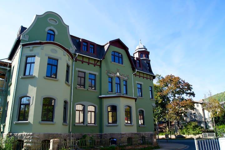 Ferienwohnung mit Schloßblick - Rudolstadt - Leilighet