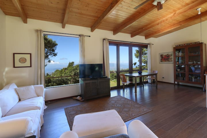 Charming mountain cottage w/bi-coastal Ocean views - Kula - House