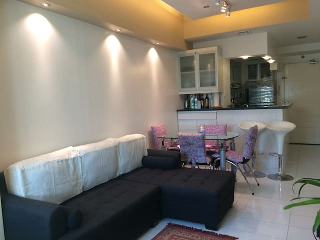 Fully furnished 1B 50sq.meter with wifi and cable