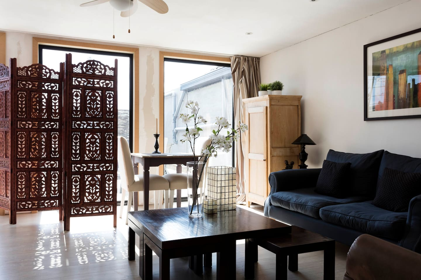 Charming private guest suite with sunny terrace