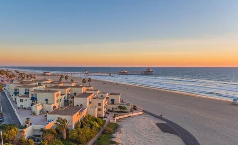 The Surf Stop | HB Condo Steps From The Beach