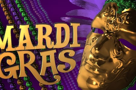 2 Blocks Walk - 2 Major MARDI GRAS Parades - Шривпорт - Дом
