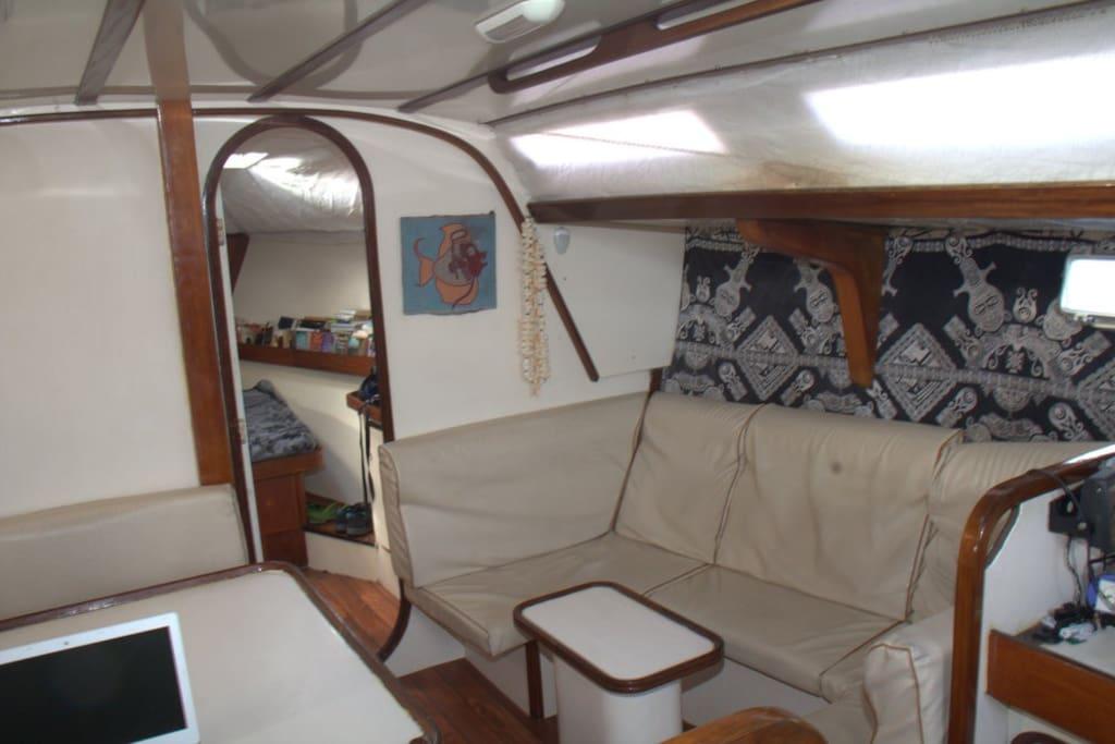 Carré tribord