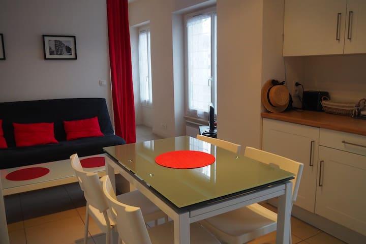 Studio sur Carnac bourg - Carnac - Apartamento