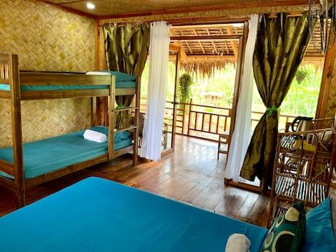 Villa Nagtabon, Nagtabon Beach, Cesar's hut