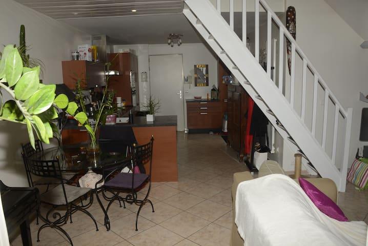 Appartement F3 avec terrasse à 25 mns de Paris - Dammarie-les-Lys - Apartment
