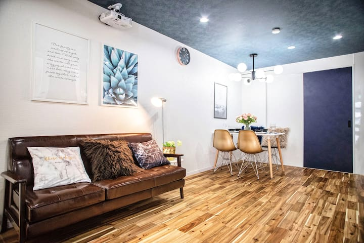 Legal!4 WAY Cute house near Umeda Osaka!4 mins sta