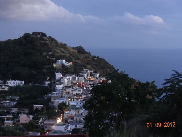 House with patio and seaview - Barano D'ischia - Leilighet