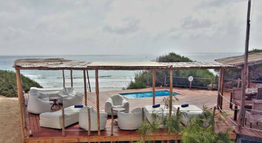 VARANDAS DO INDICO - VILLA NO.7 - Praia Tofo - Cabaña en la naturaleza