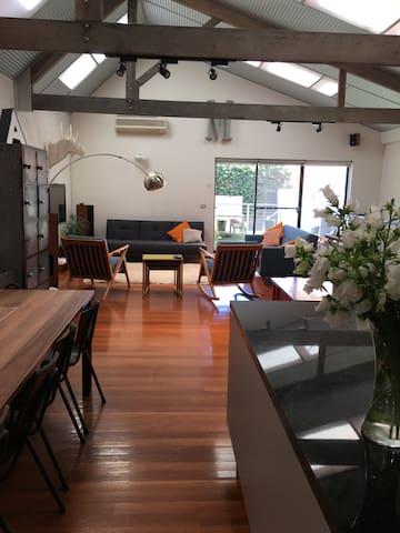 Huge 4 bedroom warehouse - vegetarian heaven! - Collingwood - Casa