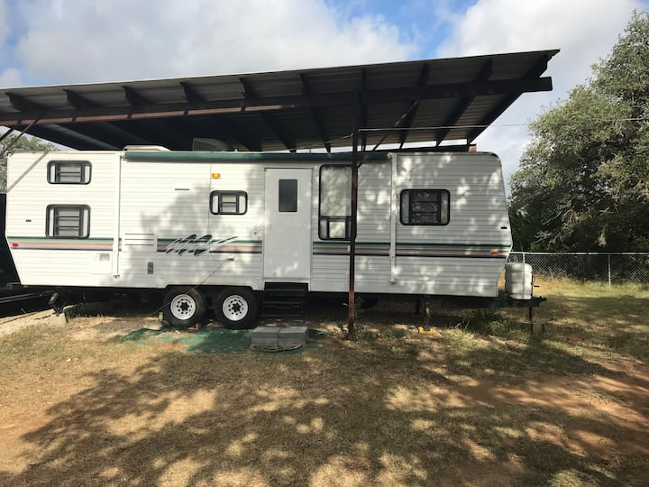 Camping Experience Close to Austin (30' Sportsmen)