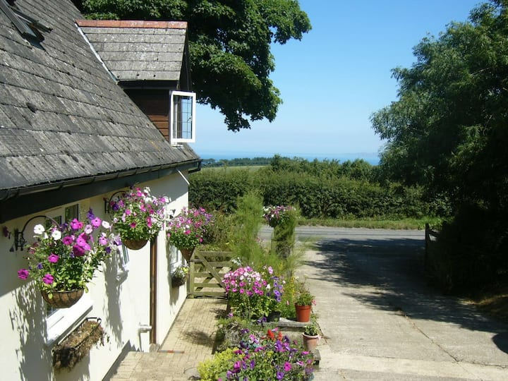 Southdown B&B Double  Room with sea views