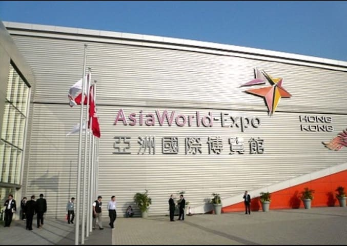FemaleHomestay1 at airport/AsiaExpo