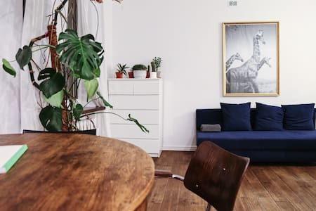 Comfy open-space apartment in Warsaw Zoliborz