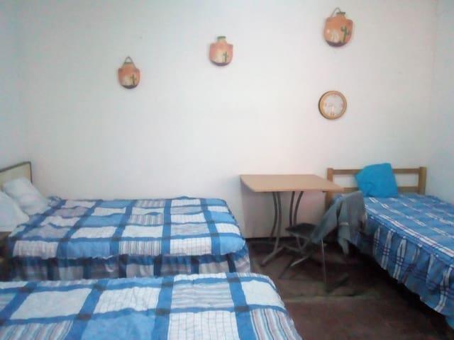 Alojamiento Poblano C.U. Puebla, de 1 a 4 Personas