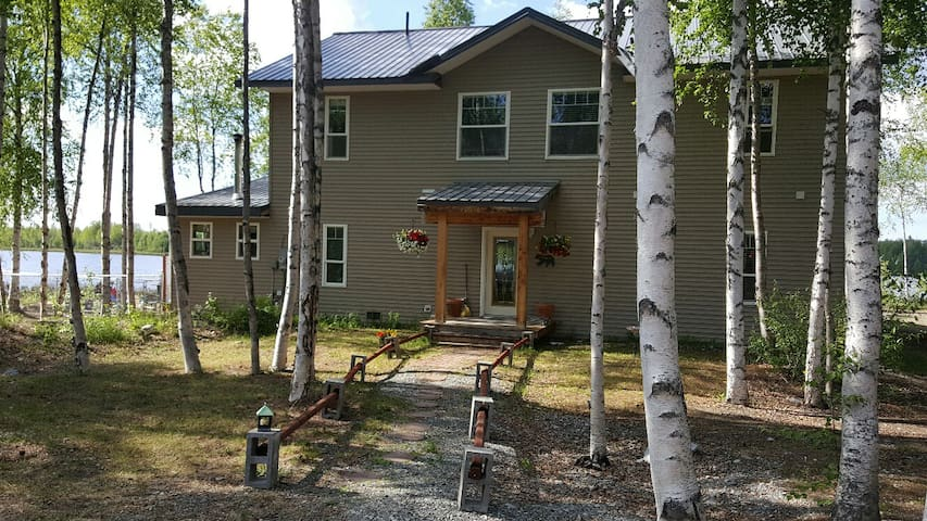 Alaska Experience Lakeside Lodge, Rustic Suite - Wasilla - Bed & Breakfast