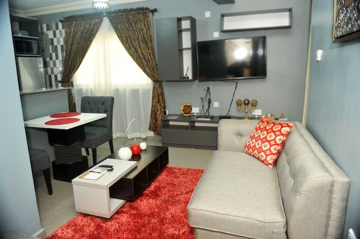 Fully Serviced & Furnished 1 Bedroom Apart., Lekki