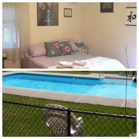 CozyRoomw/POOL *126HostReviews* - Newburgh - House