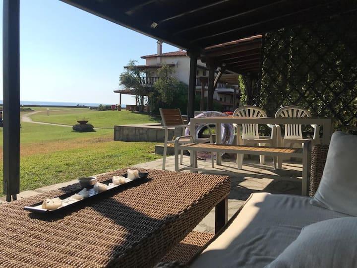 Φούρκα Home with a View - Dino's Beach House