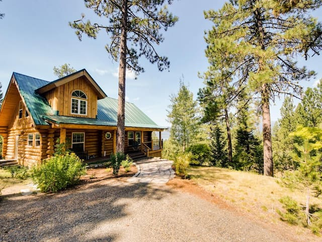 Cascade Lakeview Log Cabin - Cascade - Huis