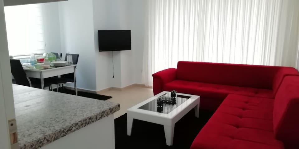 2+1 Apartment  4 beds near beach in alanya Turkey