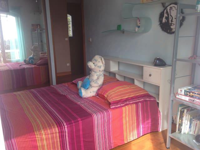Chambre confortable avec parking - Nicea - Willa