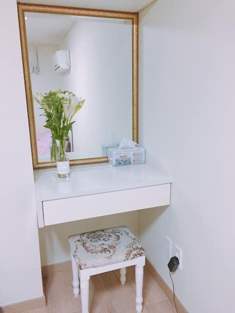 오창 아파트 숙소(부분 사용 가능합니다)