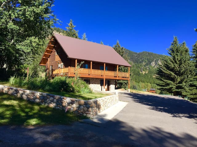 Beautiful Aspen Cabin-Great Views, Great Location! - Star Valley Ranch - Casa