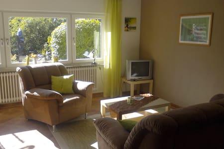 Sonnige 2-Zimmer Wohnung mit Gartenblick - Appartement