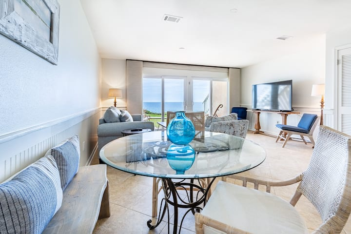 BeachFRONT on 30A! Pool! Renovated! BCH SVC⭐Inspected & Disinfected⭐Blue Tide 5A