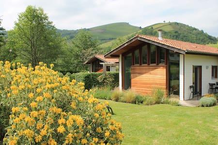 Eco-gîte ****, en plein coeur du Pays Basque. - Saint-Jean-Pied-de-Port - Alojamento na natureza