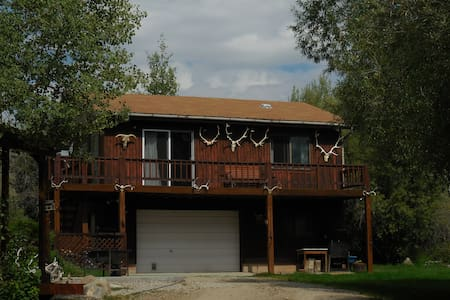 Secluded, Private Guest House 1/2 mile to town - Pinedale