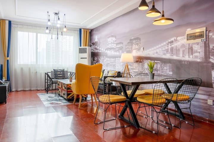 【工业风元素】两居室,紧邻北国先天下 保广 万博等繁华商圈。