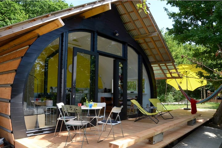 Bellevue Habitat atypique au Hameau vers luisants