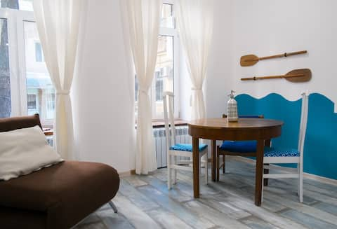 The flat of Kostya the sailor