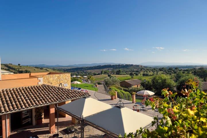 Confortevole appartamento bilocale - Magliano in Toscana - Lägenhet