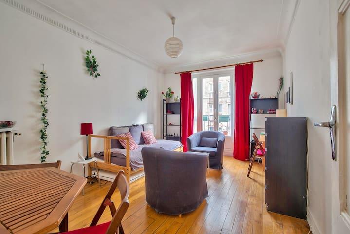 Comfortable two-piece apartment *PARIS 15*