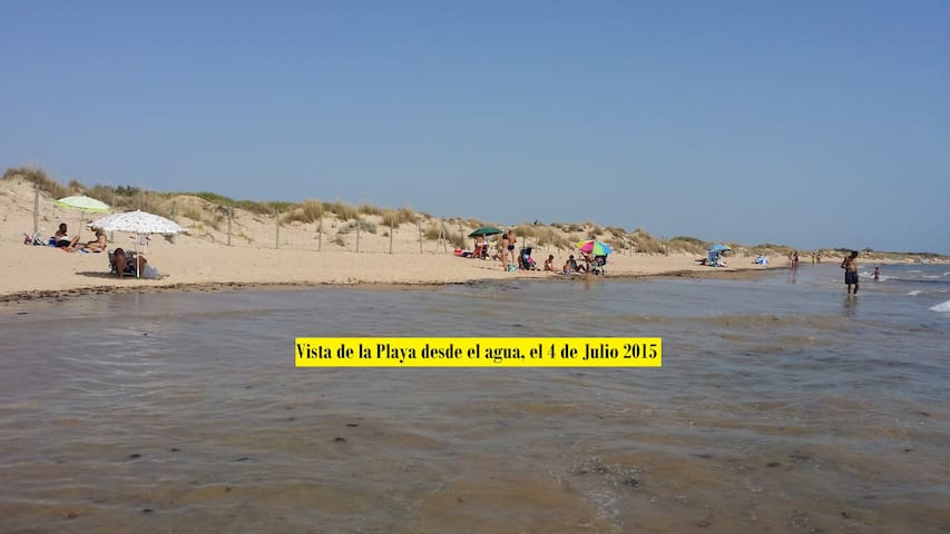A house just in the first line of the beach - Chipiona - Casa