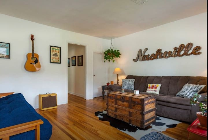Cool East Nashville Duplex- GREAT LOCATION!