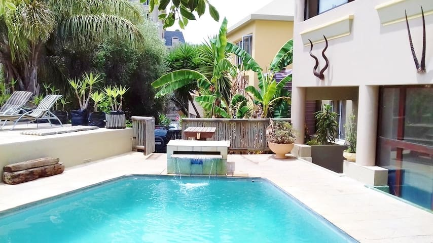 Studio Apartment right by the Pool - Double 9